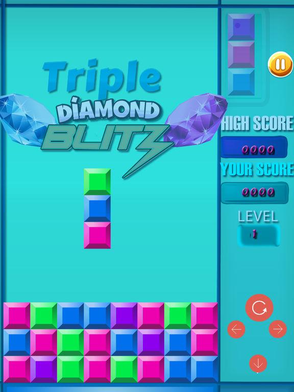 Triple Diamond Blitz PRO - Match 3 Puzzle screenshot 10