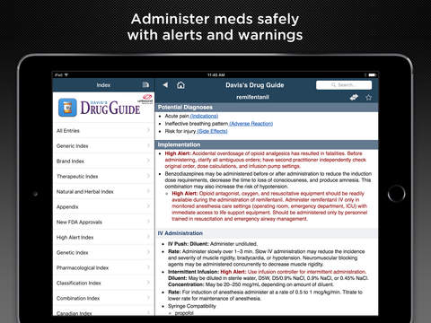 Davis's Drug Guide 2017 screenshot 8