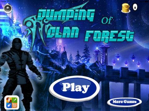 A Jumping Of Forest Clan X Pro - Jump Dark Messenger Ninja screenshot 6
