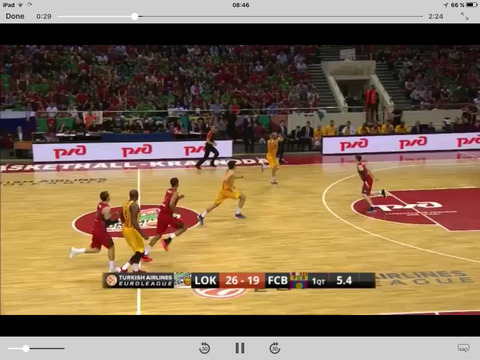 Euroleague TV for iPad - náhled