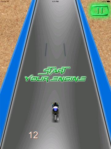 Vanguard Motorcycle Flames - Extreme Speed Amazing screenshot 10