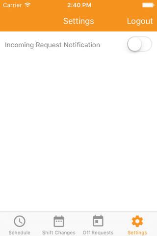 ShiftGen Mobile - náhled