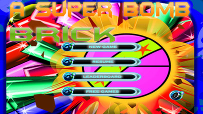 A Super Bomb Brick - Special Breaking Game screenshot 1