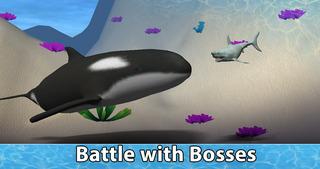 Sea Shark Survival Simulator 3D Full screenshot 1