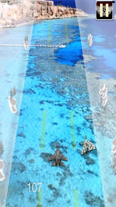 Awesome Aircraft Race Pro - Strike Air Game screenshot 2