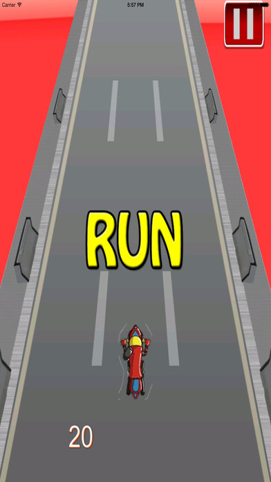Big Fast Race Child - Crazy Game Road Bike screenshot 5