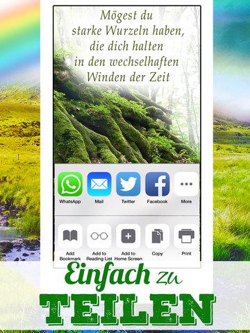 Weisheiten und Segenswünsche aus Irland - Irische Segenssprüche , Zitate & Lebensweisheiten screenshot 8