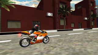 Highway Bike Rider : Moto Stunt Race screenshot 1