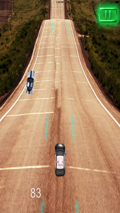 A Driving Fast Police - Racing Hovercar Game screenshot 4