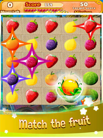 Land Fruit Star: Match3 Smasher screenshot 5