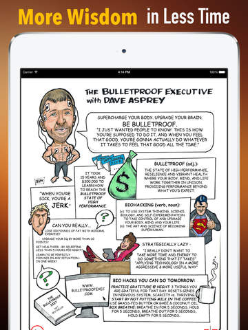 The Bulletproof Diet: Practical Guide Cards with Key Insights and Daily Inspiration screenshot 6