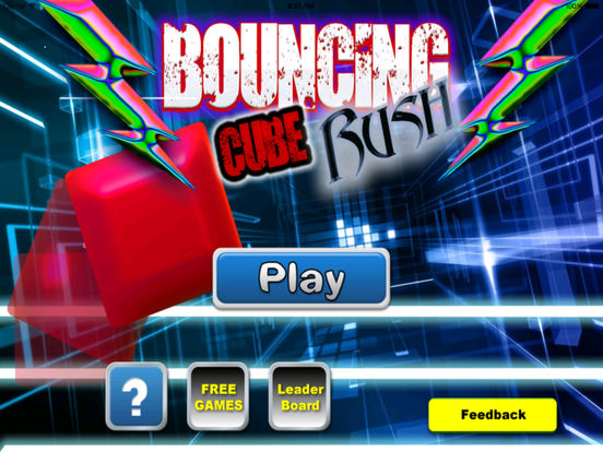 Bouncing Cube Rush - Geometry Shock Jump screenshot 6