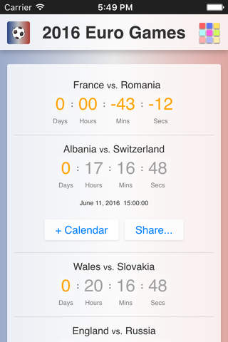 2016 Euro Games - náhled