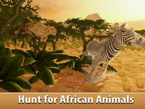 African Cheetah: Wild Animal Simulator 3D Full screenshot 6