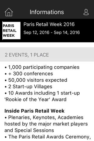 PARIS RETAIL WEEK - náhled