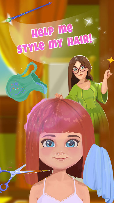 Fairy Tale Makeover - Princess Hair & Makeup Salon screenshot 1