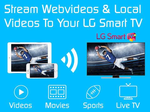 Video & TV Cast for LG TV screenshot 6
