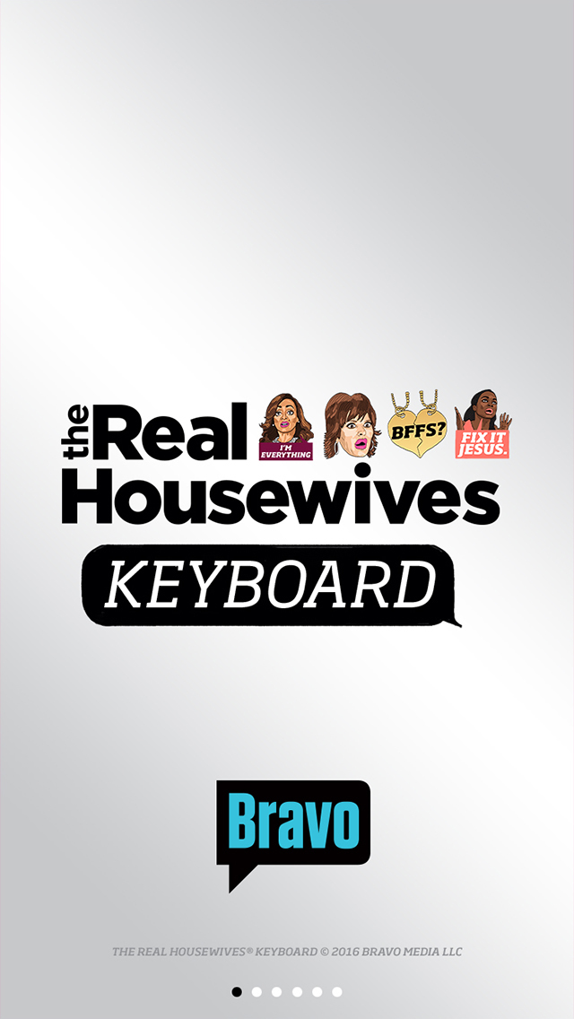 The Real Housewives Keyboard screenshot 1