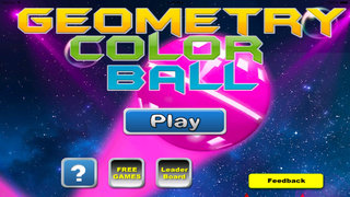 Geometry Color Ball PRO - Fun Rolling Color screenshot 1