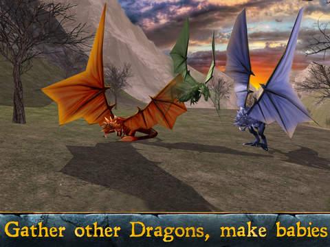 Fantasy Dragon Simulator 3D - Be the magic animal! screenshot 6