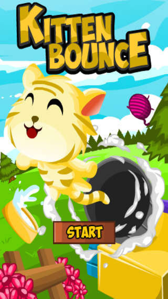 Kitten Bounce screenshot 1