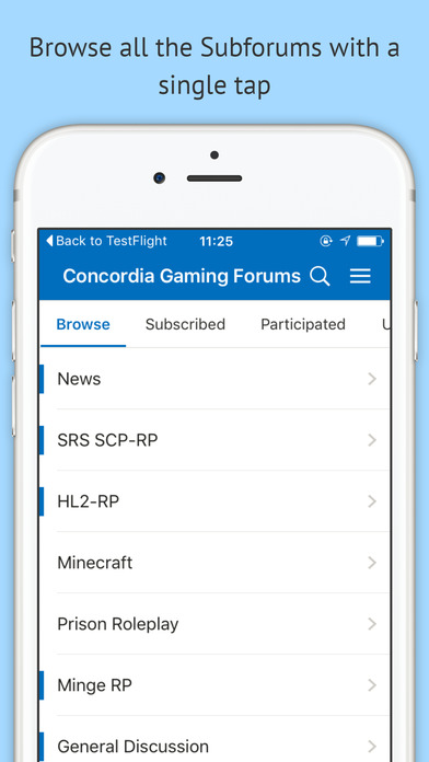 Concordia Gaming Forums screenshot 3