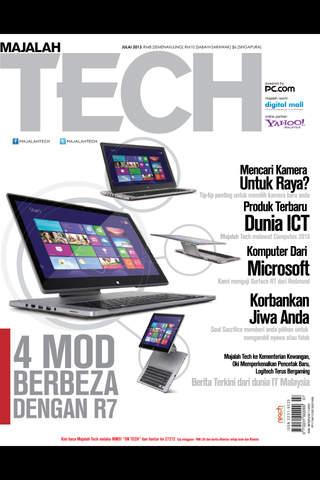 Majalah Tech - náhled