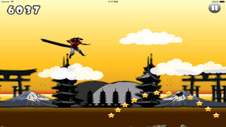 A Ninja Ray Jump HD - Jumps Of The Lords Clan Dark screenshot 4