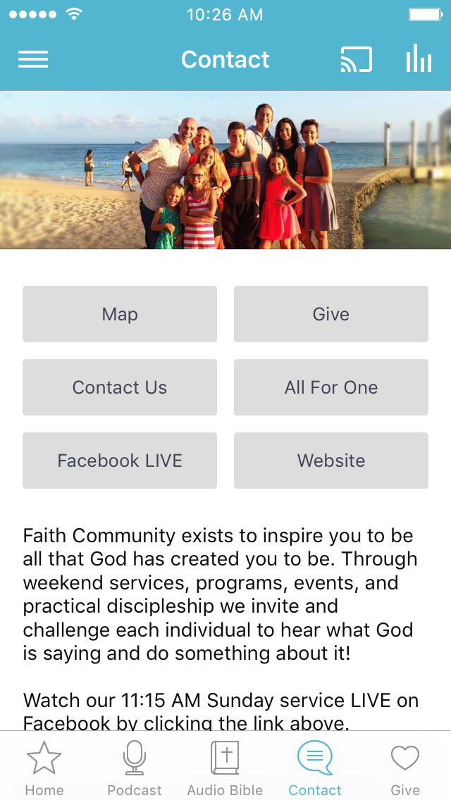 Faith Community KRV screenshot 3