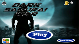 A Dark Samurai War - Jump Risk And Run Game screenshot 1