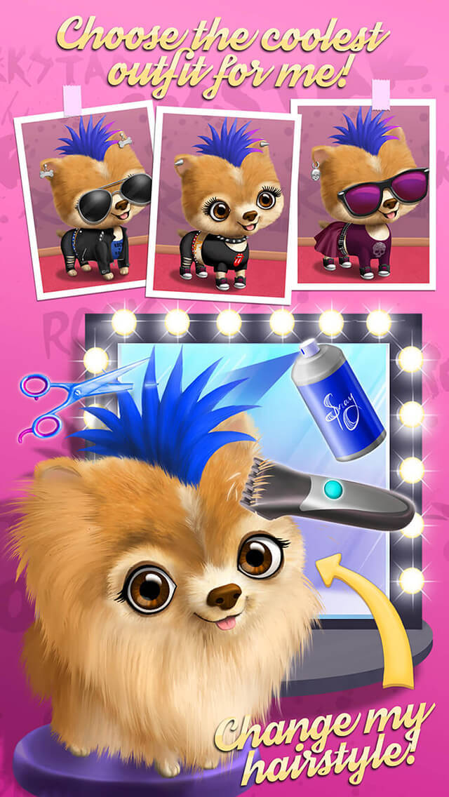 Rock Star Animal Hair Salon screenshot 4
