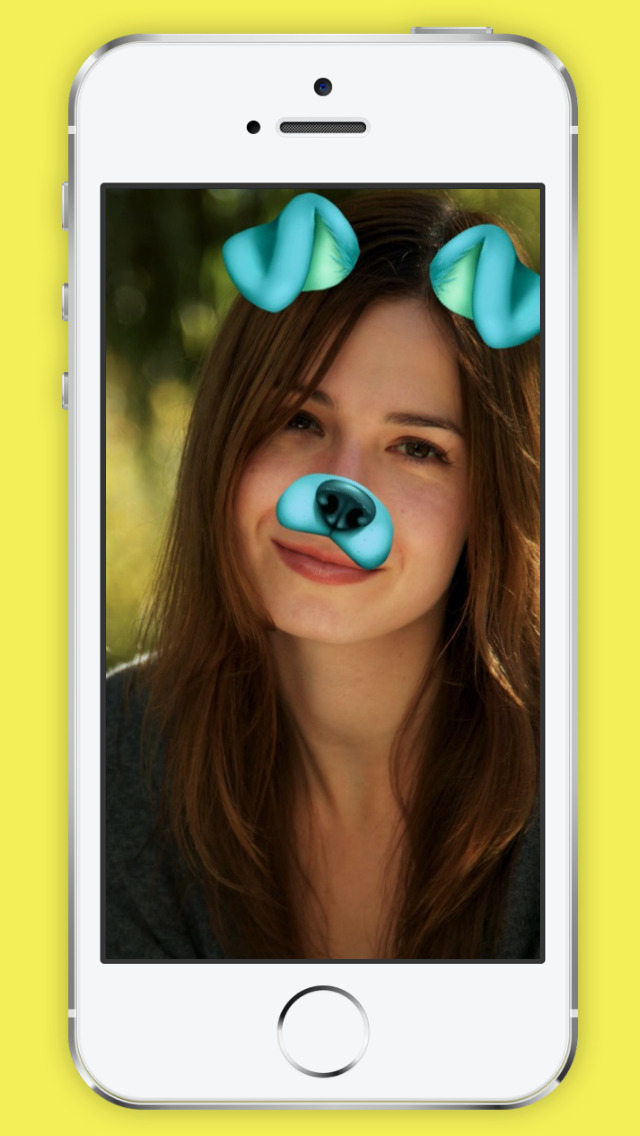 Snap Face for Snapchat - Emoji, Dog, Funny face + Sticker