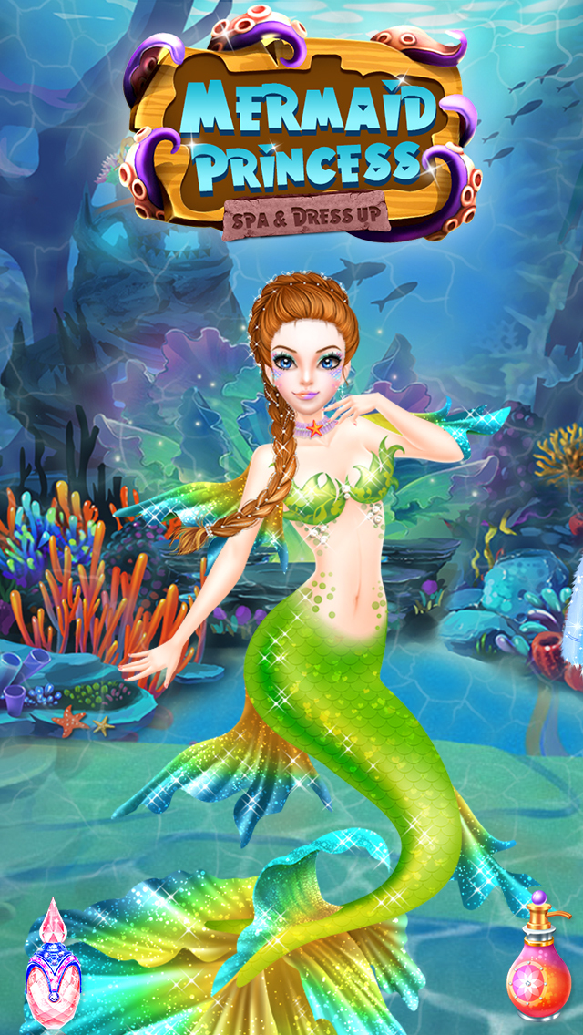 Mermaid Princess Spa & Dressup screenshot 1