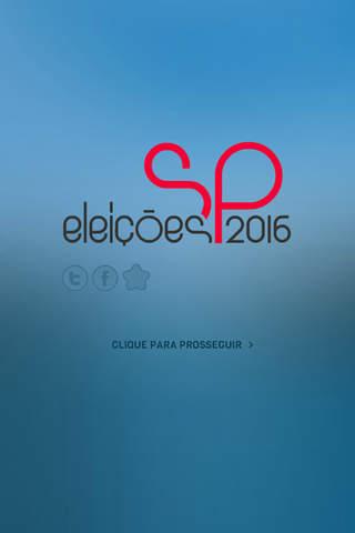 Eleições SP 2016 - náhled