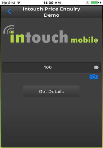 Intouch Price Enquiry - náhled