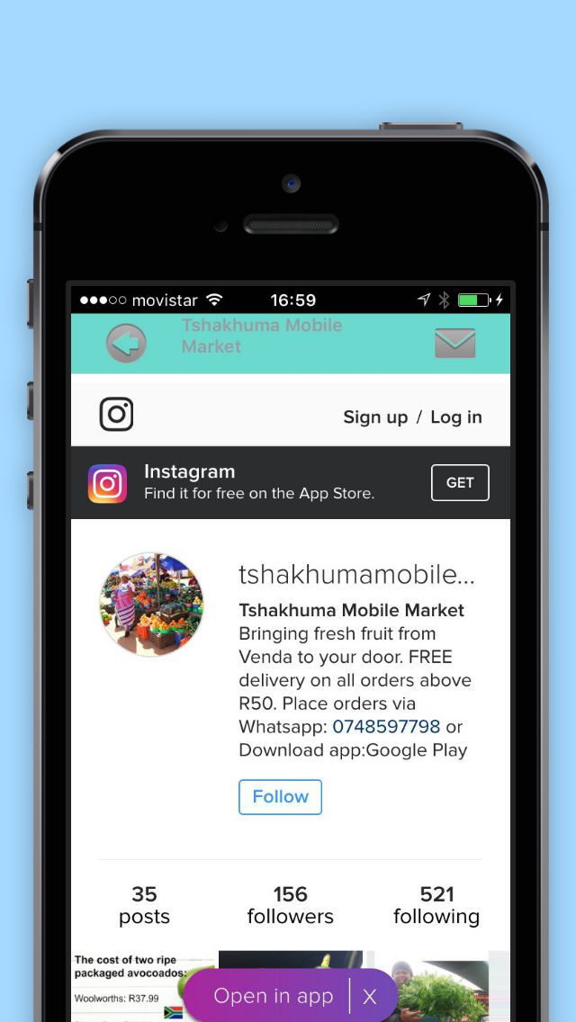 Tshakhuma Mobile Market screenshot 2