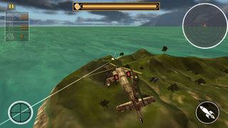 Army Gunship Helicopter 3D : Adventure Shooting screenshot 2