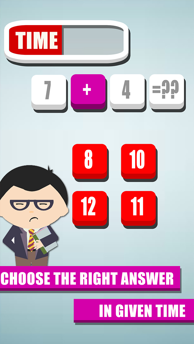 Cool Math Quiz for toddlers - Children's Educational Puzzles