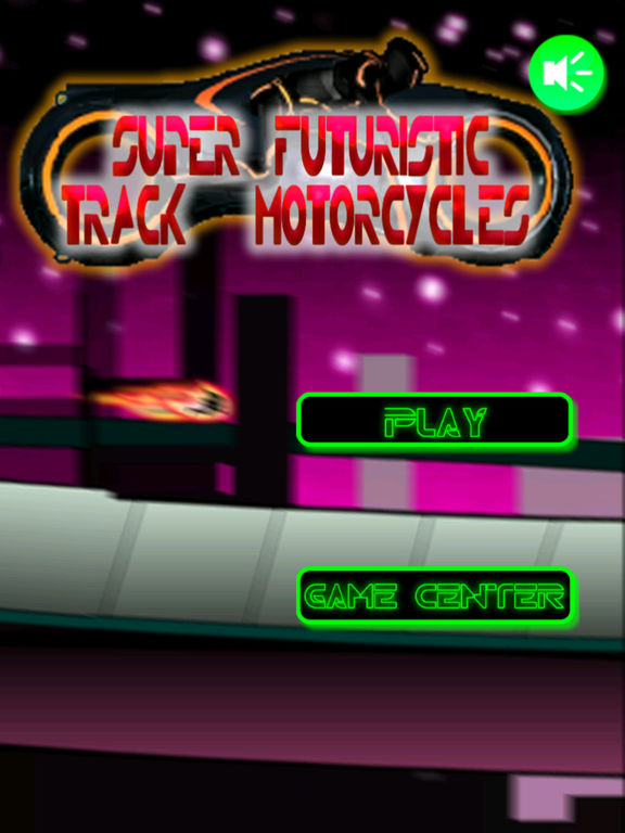 Super Futuristic Track Motorcycles - Vibrant Speed screenshot 6