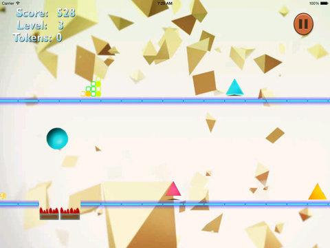 A Meltdown Ball Crazy - A Blue Jump Bouncing screenshot 9