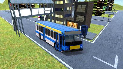 Bus Parking 3D : Real Simulation Drive Free screenshot 2