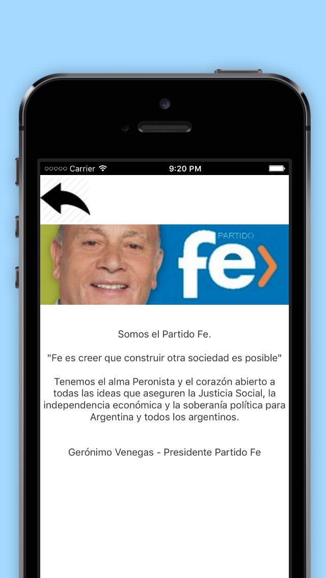 Partido Fe screenshot 2