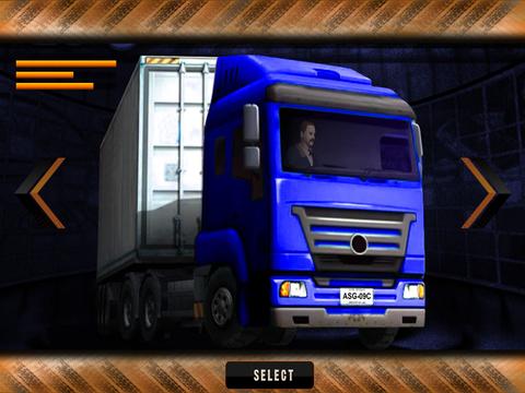 Speed Truck Parking Simulator screenshot 5