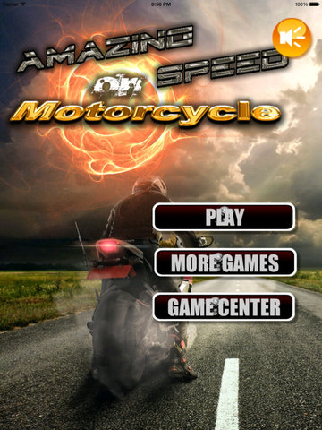 Amazing Speed On Motorcycle - Extreme Speed Amazing Biker screenshot 6