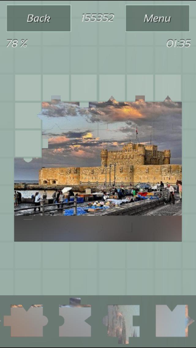Castles Great Puzzle screenshot 2