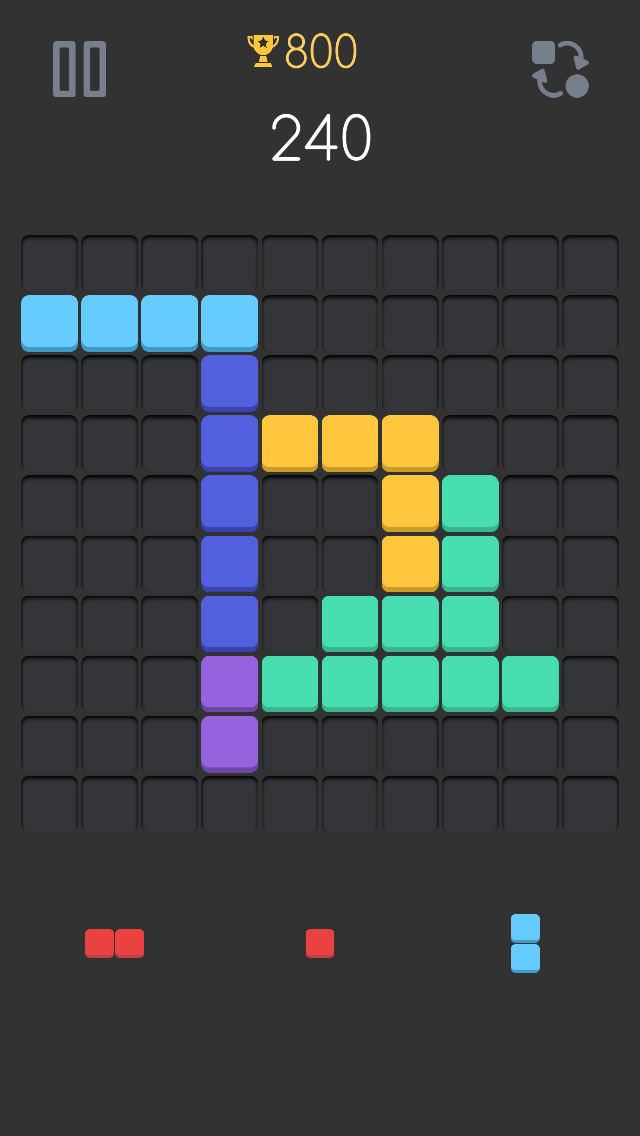 GridBlock Puzzle - A game retreat shakers slide path voez app | Apps