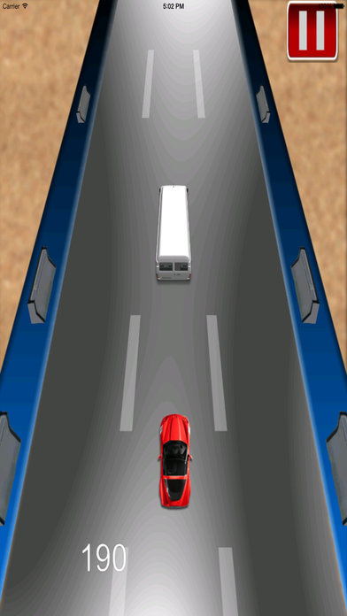 Adrenaline Vector Car Rush Pro - Adventure Race screenshot 3