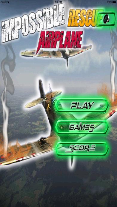 A Impossible Rescue Airplane - Alert Simulator screenshot 1