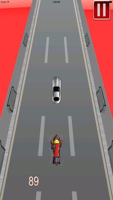 Big Fast Race Child - Crazy Game Road Bike screenshot 2