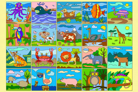 Color by Numbers - Animals - náhled